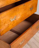 19th Century Mahogany Campaign Chest with Inset Brass Handles (7 of 10)