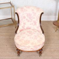 Tub Chair Carved Mahogany 19th Century (4 of 10)