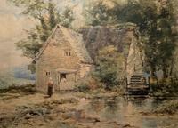 William Charles Goddard Near Saltash Cornish Landscape Painting (8 of 14)