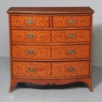 Inlaid Satinwood Chest of Drawers by S & H Jewells (2 of 14)