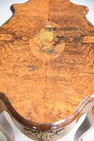 French Inlaid Walnut Centre Table (8 of 12)