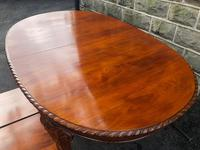 Antique Mahogany 9ft Wind Out Extending Dining Table (3 of 14)