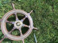 Oak & Brass Ships Wheel (7 of 11)