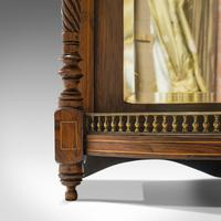 Antique Butler's Mirror, English, Rosewood, Dome Top, Wall, Victorian c.1880 (8 of 11)