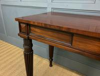 George IV Mahogany Console Table (6 of 12)