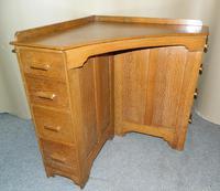 Oak Corner Desk (4 of 7)