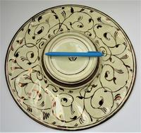 Gordon Forsyth, Copper Lustre Earthenware Shallow Footed Dish in Hispano Moresque Style c.1930 (4 of 8)