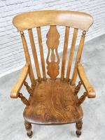 Large Windsor Lyreback Armchair (4 of 7)