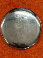 Vintage Solid Silver 0.900 Vietnam MY Ngme Compact with Mirror (2 of 8)