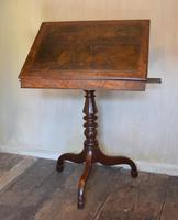 Georgian Mahogany Reading & Writing  Desk / Table (6 of 7)