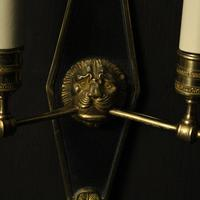 French Pair Of Empire Antique Wall Lights Oka (5 of 10)