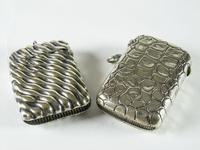 Two Edwardian Plated Vesta Cases (2 of 4)