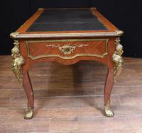 Antique Bureau Plat Desk - French Empire 1930 (10 of 12)