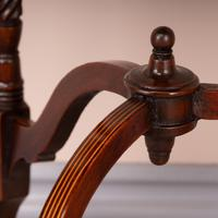 Edwardian Inlaid Rosewood Drop Leaf Occasional Table (21 of 23)