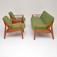 1950's Danish Teak Sofa by Arne Vodder (8 of 12)