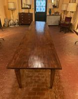 Large Monastery Table From 4m Long-19th Century-netherlands (3 of 9)