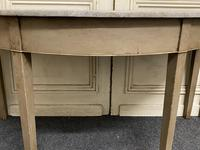 Pair of Georgian Painted Demi Lune Console Tables (12 of 22)