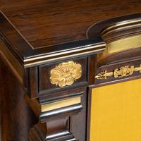 Pair of Regency Brass Inlaid Rosewood Side Cabinets (14 of 17)