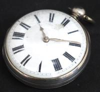 Antique ChrAntique Silver Open Case Pocket Watch Fusee Verge Escapement Key Wind F Hiahams Canterburyonograph Pocket Watch Sweeping Stop Start Seconds Hand Swiss Made Key Wind. (8 of 12)