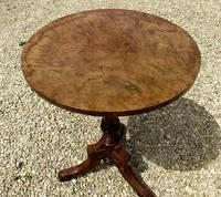Signed Burr Walnut Occasional Table (3 of 5)