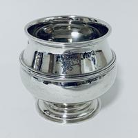 Antique Solid Sterling Silver Sugar Bowl by Walker & Hall (2 of 12)