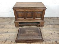 18th Century Style Welsh Oak Coffer Bach Chest (3 of 9)