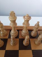 Vintage Carved Wooden Staunton Chess Set (5 of 6)