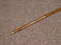 Antique Hallmarked 1902 Silver Walking / Gadget Sword Stick With Horse Leg / Hoof Handle (9 of 15)