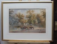 Watercolour English Countryside Listed Artist Henry Earp Senior (8 of 10)
