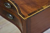Pair Edwardian Mahogany Serpentine Side Tables (10 of 14)