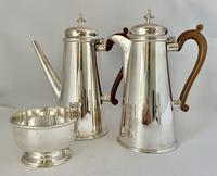 Silver Plated Chocolate Set c.1930 (4 of 8)