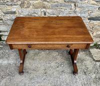 Antique Regency Mahogany Library Table (2 of 14)