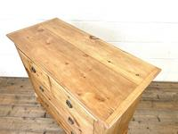 Small Victorian Pine Chest of Drawers (8 of 10)