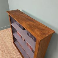 Victorian Mahogany Antique Open Bookcase (2 of 5)