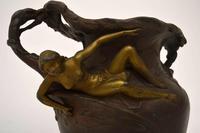 French Antique Art Nouveau Bronze Urn (7 of 10)