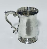 18th Century Georgian Solid Sterling Silver Tankard (2 of 16)