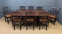 Gillows Style Regency Mahogany Dining Table (22 of 22)