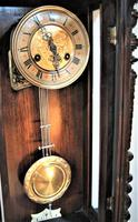 Spring Driven German Striking Vienna Wall Clock by Friedrich Mauthe. (7 of 7)