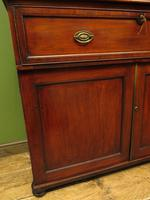 Antique George II Mahogany Secretaire Bookcase of Immense Character (16 of 16)