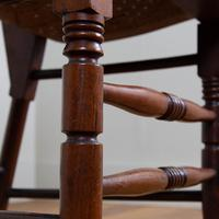 Pair Attractive Victorian Pierced Bentwood Side Chairs (11 of 14)