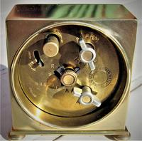 Art Deco Travel Alarm Clock of the Highest-Quality by Zenith (4 of 6)