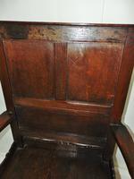 Early Welsh Oak Waincot Chair (4 of 12)