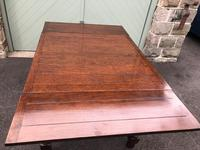 Antique Oak Extending Dining Table (3 of 10)