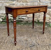 Antique Victorian Mahogany Side Table (15 of 17)