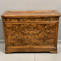 Early 19th Century Burr Elm Commode (6 of 7)
