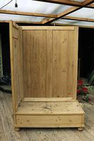 Fabulous & Large Old Pine 'Knock Down'  Double Wardrobe (12 of 15)