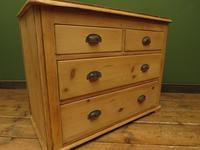 Antique Victorian Rustic Pine Nautical Boat Yard Chest of Drawers, sink unit (4 of 12)