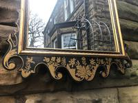 George III Style Lacquered Chinoiserie Pier Mirror (4 of 5)