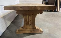 Rare Huge 3m Bleached Oak Farmhouse Table (8 of 23)