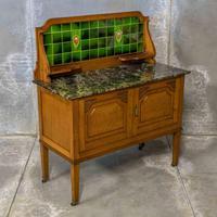 Edwardian Oak Washstand (4 of 9)